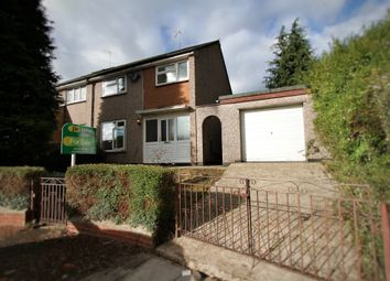 Thumbnail 3 bed semi-detached house for sale in Darent Close, Bettws, Newport