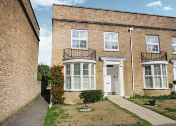 Thumbnail 3 bedroom end terrace house for sale in Chantry Close, Highcliffe, Christchurch