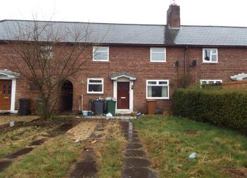 Thumbnail 3 bed terraced house for sale in Ashfield Crescent, Bromborough, Wirral