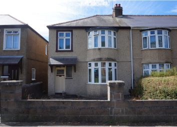 Thumbnail 3 bed terraced house for sale in Pemros Road, Plymouth