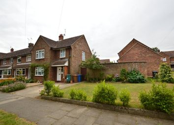 Thumbnail 3 bedroom end terrace house for sale in Conway Close, Ipswich