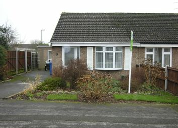 Thumbnail 2 bed semi-detached bungalow to rent in Cromer Close, Mickleover, Derby