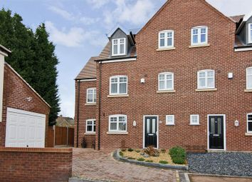 Thumbnail 4 bed town house for sale in Bramwell Drive, Hednesford, Cannock