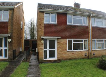 Thumbnail 3 bed semi-detached house to rent in Drakes Avenue, Devizes, Wiltshire