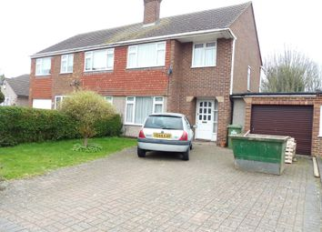 Thumbnail 3 bedroom semi-detached house for sale in Briarley Close, Broxbourne