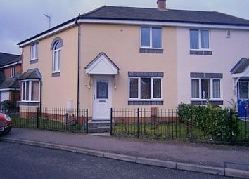 Thumbnail 3 bed semi-detached house to rent in Belvoir Close, Corby