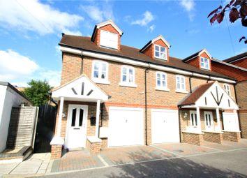 Thumbnail 3 bed end terrace house for sale in Regency Close, Edenbridge