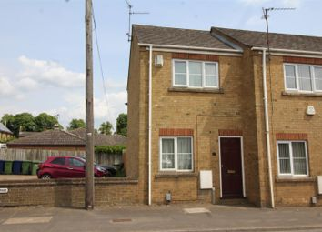 Thumbnail 1 bed end terrace house for sale in Ramsey Road, Whittlesey, Peterborough