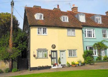 Thumbnail 3 bed terraced house for sale in Cage End, Hatfield Broad Oak