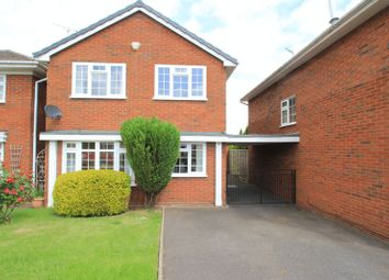 Thumbnail 4 bed detached house for sale in Saplings Close, Penkridge, Stafford