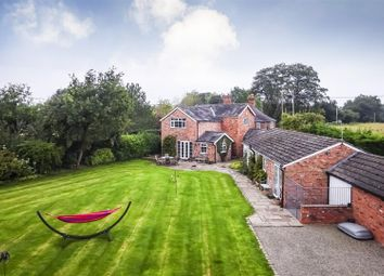 Thumbnail 5 bed detached house for sale in Wood Lane, Clotton, Tarporley