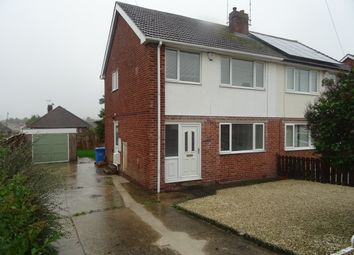 Thumbnail 3 bed semi-detached house to rent in St. Pauls Road, Worksop, Worksop