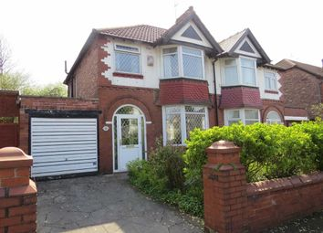Thumbnail 3 bed semi-detached house for sale in Talbot Road, Fallowfield, Manchester