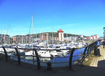 Thumbnail 1 bed flat for sale in Trawler Road, Marina, Swansea