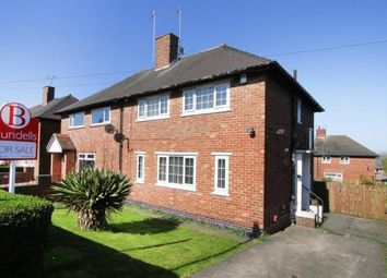 Thumbnail 3 bed semi-detached house for sale in East Glade Crescent, Sheffield, South Yorkshire