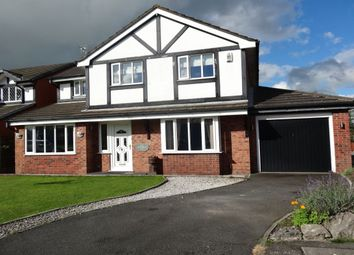 Thumbnail 4 bed detached house for sale in Leadale, Lea, Preston
