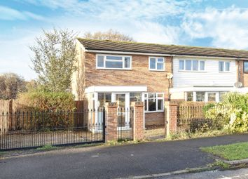 Thumbnail 3 bedroom end terrace house for sale in Gadesden Road, West Ewell, Epsom