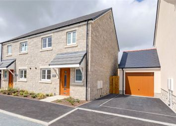 Thumbnail 3 bed semi-detached house for sale in Trispen Meadows, Trispen, Truro