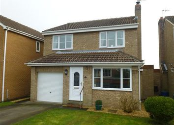 Thumbnail 4 bedroom detached house for sale in Hall Farm Close, Riccall, York