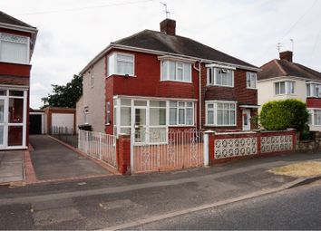 Thumbnail 3 bedroom semi-detached house for sale in Harrowby Road, Wolverhampton