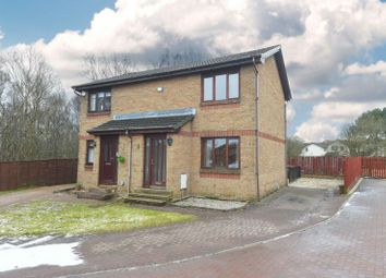 Thumbnail 2 bed semi-detached house for sale in Fruin Drive, Cambusnethan, Wishaw