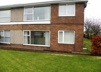 Thumbnail 1 bed flat to rent in Ridsdale Close, Seaton Delaval, Whitley Bay