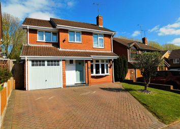 Thumbnail 4 bed detached house for sale in St. Marys Road, Little Haywood, Stafford