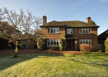 Thumbnail 4 bedroom detached house to rent in Fairway, Guildford