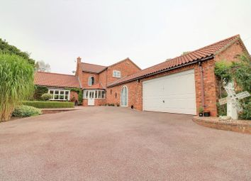 Thumbnail 4 bed detached house for sale in Hall Lane, Elsham, Brigg