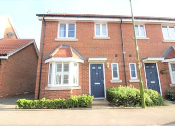 Thumbnail 3 bed end terrace house to rent in Aldermere Avenue, Waltham Cross, Hertfordshire