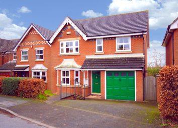Thumbnail 4 bed detached house for sale in Church Way, Wybunbury, Nantwich