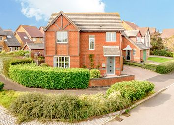 Thumbnail 3 bed detached house for sale in Demozay Close, Hawkinge, Folkestone