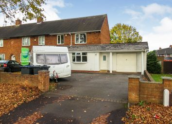3 bed end terrace house for sale in Freasley Road, Shard End, Birmingham B34
