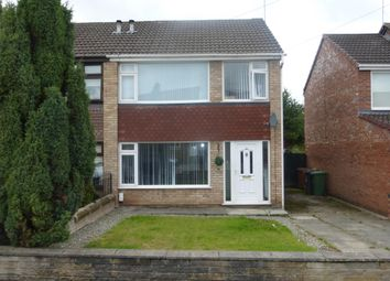 Thumbnail 3 bed semi-detached house to rent in Christleton Close, Prenton