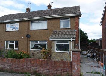Thumbnail 3 bed semi-detached house for sale in Ffordd Yr Eglwys, North Cornelly, Bridgend, Mid Glamorgan