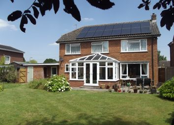 Thumbnail 4 bed detached house for sale in Mountford Close, Wellesbourne, Warwick