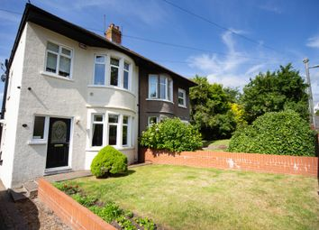 3 bed semi-detached house for sale in Tredelerch Road, Rumney, Cardiff CF3