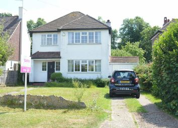 Thumbnail 3 bed detached house to rent in Warren Hill, Woodcote Estate, Epsom