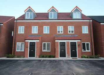 Thumbnail 3 bed town house to rent in Skylark Way, Clipstone Village, Mansfield, Nottinghamshire