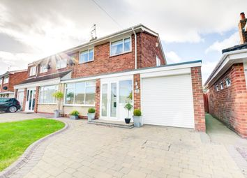 Thumbnail 3 bed semi-detached house for sale in Acomb Crescent, Newcastle Upon Tyne
