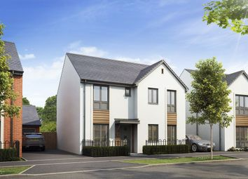 "Thumbnail 4 bed detached house for sale in ""The Claverly"" at Hayfield Way, Bishops Cleeve, Cheltenham"