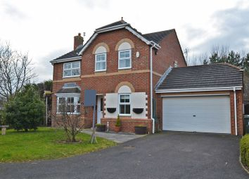 Thumbnail 4 bed detached house for sale in Monks Wood, North Shields