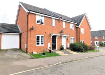 Thumbnail 3 bed end terrace house for sale in Curlew Close, Stowmarket