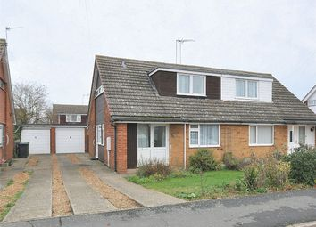 Thumbnail 2 bed semi-detached house for sale in Deerpark Road, Sawtry, Huntingdon, Cambridgeshire