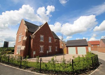 Thumbnail 4 bedroom detached house for sale in Oaks Court, Oaks Road, Willington, Derby