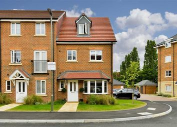 Thumbnail 4 bed end terrace house for sale in Winter Close, Epsom, Surrey