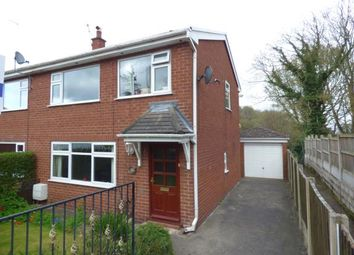 Thumbnail 3 bed semi-detached house for sale in Plas Yn Bwl, Caergwrle, Wrexham