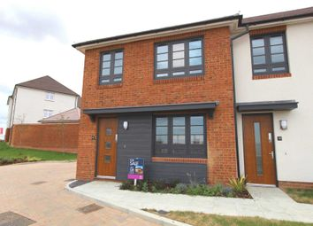Thumbnail 2 bed end terrace house to rent in Candy Dene, Ebbsfleet Valley, Swanscombe