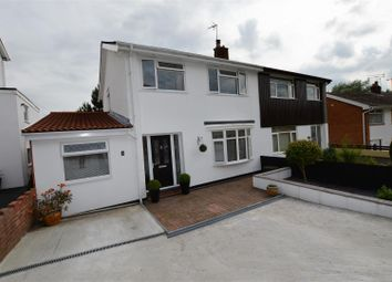 Thumbnail 4 bed semi-detached house for sale in Talbot Close, Talbot Green, Pontyclun