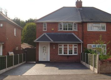 Thumbnail 2 bed semi-detached house for sale in Ellison Street, West Bromwich